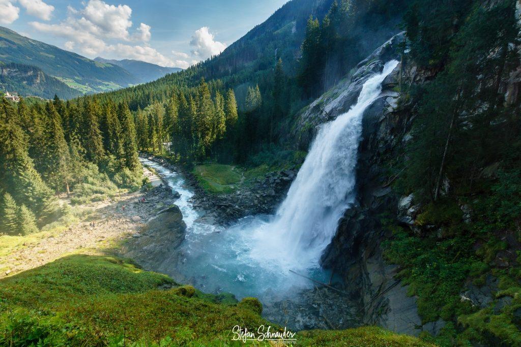 Salzburg - Krimmler Wasserfälle